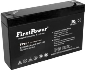 Fire Alarm Back-up Rechargeable Battery (FP685) pictures & photos