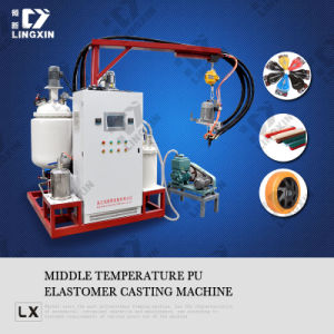 Polyurethane Elastomer Pouring Machine pictures & photos