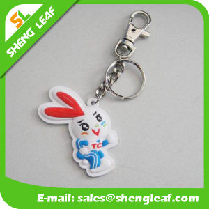 Promotion Custom Soft PVC Rubber Keychain (SLF-KC098) pictures & photos