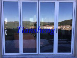 Custom Double Glazing Aluminium Folding Door pictures & photos