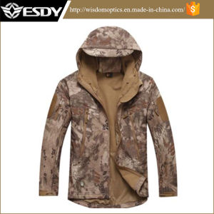 Tactical Lurker Sharkskin Softshell Outdoor Waterproof Windproof Military Jacket Coat pictures & photos