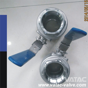 A105 3000 Psi/Wog Threaded/NPT/Screwed Ball Valve pictures & photos