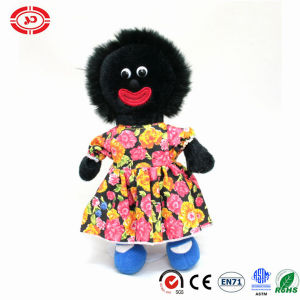 Black Golliwog Stuffed Plush Doll with Nice Dressing Toy pictures & photos