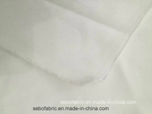 98% Cotton 2%Spandex Greige/White Stretch Denim Fabric