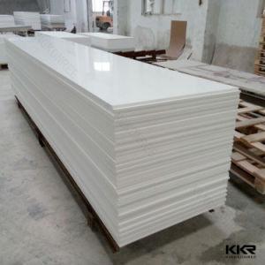 Kingkonree Big Slab 20mm White Acrylic Solid Surface Sheet pictures & photos