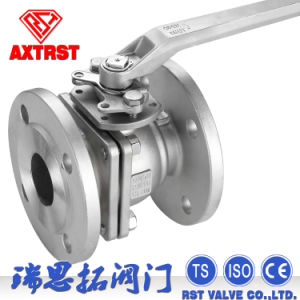 DIN 2PC Flange Floating F4 F5 Ball Valve (factory wholesale) pictures & photos
