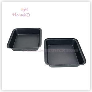 Bakeware FDA Carbon Steel Microwave Baking Pan (23*22*5cm) pictures & photos