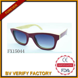 Alibaba Trade Assurance Polariod Woode Sunglasses (FX15044) pictures & photos