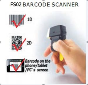 Fs02 Finger 2D Bluetooth Barcode Scanner for iPhone pictures & photos