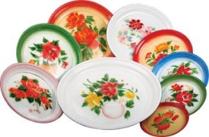 China High Quality Hot Sale Enamel Plate pictures & photos