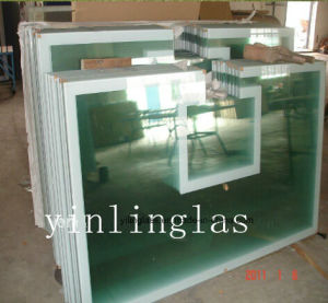 Hardened Backboard Glass with CE ANSI Certificate pictures & photos