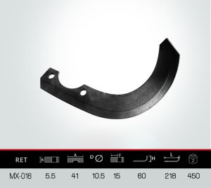 Steel Blade, Rotary Tiller Blade pictures & photos
