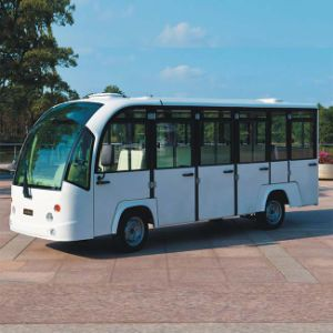 Hot Selling 14-Seats Electric City Bus with Doors for Sale (DN-14F) pictures & photos
