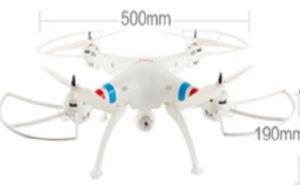 Remote Contro, Flashing RC Model Drone, Quad Copter Drone