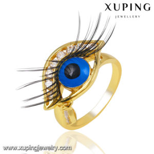 Fashion Charm 14k Gold-Plated CZ Eye Imitation Jewelry Finger Ring -13746 pictures & photos
