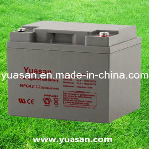 Yuasan Rechargeable Gel Solar SMF Batteries with Long Life--Npg42-12 (12V42AH)