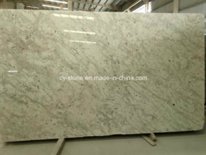 Andromeda White Granite Slab for Kitchen Countertop/Hotel Project pictures & photos