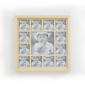Wooden Photo Frame in Mutiple Open for Holiday Gift pictures & photos