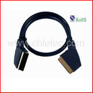 Standard Scart to Scart Lead (SY034) pictures & photos
