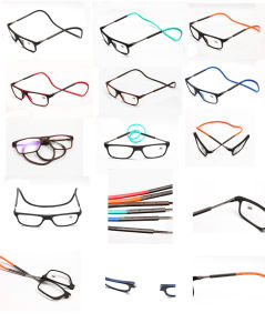 Hot Sale Eruope Rubber Magnetic Unisex Reading Frames pictures & photos
