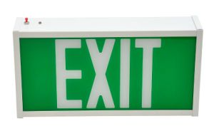 UL LED Exit Sign with High Strength Steel Case Indoor Outdoor Use pictures & photos