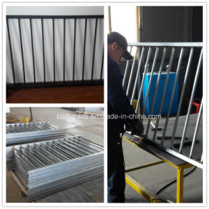 Powder Coated Galvanized Steel Cheap Fence Panels