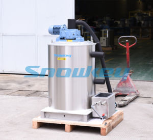 Sfm30 Snowkey Fishery Seafood Seawater Flake Ice Maker Producer 3000kg/Day pictures & photos
