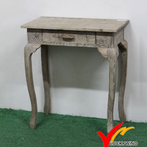 Antique Wooden Outdoor Furniture Handmade Wood Side Table pictures & photos