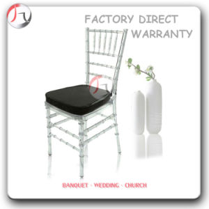 Clear Acrylic Black Cushion Chivalry Chairs (RT-31) pictures & photos