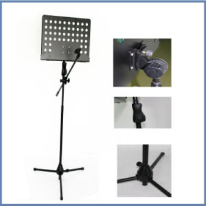 Newest Creative Design Mic Stand/Music Sheet Stand pictures & photos