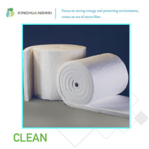 Heat Insulation White Glass Wool Blanket for Steel Structure Buildings pictures & photos