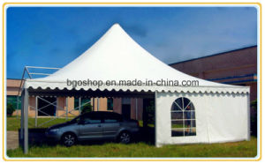PVC Coated Sunshade Tarpaulin Tent Fabric (1000dx1000d 30X30 900g) pictures & photos