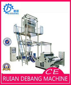 Double Rewinder Film Blowing Machine