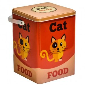 Hot Sale Cat Food Tin Box with Handle pictures & photos