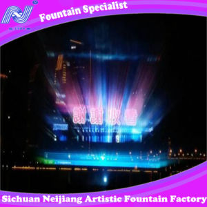 Water Screen Movie with Laser Curtain Music Dancing Fountain pictures & photos