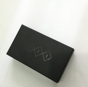 Black Card Paper Box/Packing Box/Packaging Box