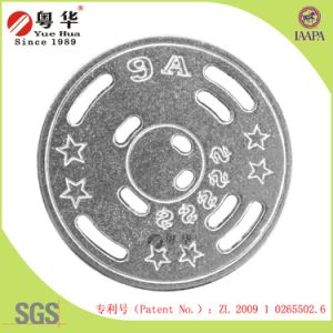 Factory Direct 2.5*1.8mm Zinc Alloy Digital Coin (Patent No. ZL 2009 1 0265502.6) pictures & photos