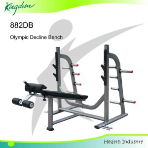 Gym Bench Fitness Equipment Gym Equipment Olympic Decline Bench pictures & photos
