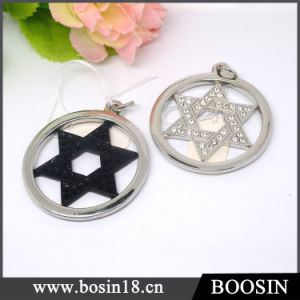Israel Judaism Accessories Star of David Metal Pendant pictures & photos