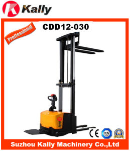 Electric Pallet Stacker for Warehouse (CDD12-030) pictures & photos