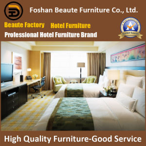 Hotel Furniture/Luxury Double Bedroom Furniture/Standard Hotel Double Bedroom Suite/Double Hospitality Guest Room Furniture (GLB-0109830) pictures & photos