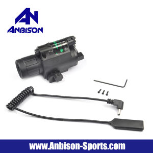 Tactical Green Laser Sight and LED Flashlight for Picatinny Rail pictures & photos