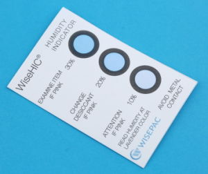 10%-30% Cobalt (HIC) Humidity Indicator Card (WiseHIC) pictures & photos