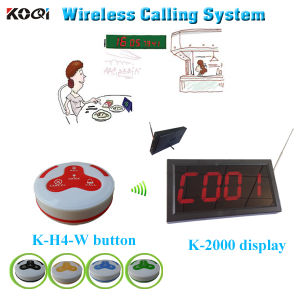 Most Popular 4key Transmitter Receiver Restaurant Call Bell System pictures & photos