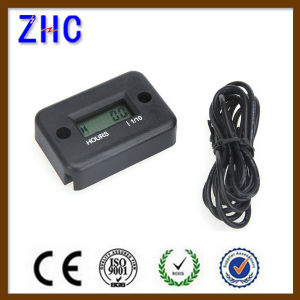 Generator 6V-270V Digital LCD Display Engine Hour Meter for Gasoline Engine Racing Motorcycle pictures & photos