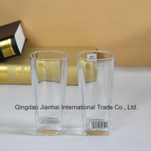Customized Logo Glass Cup Glass Bottle (one box include 6 pieces) pictures & photos