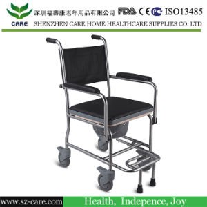Stainless Steel Commode Chair for Elderly pictures & photos