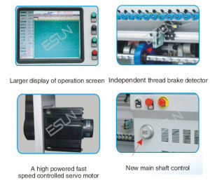 High Speed Computerized Multi-Function Chain Stitch Quilting Machine pictures & photos
