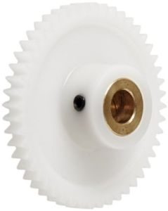OEM Delrin Spur Gear with Grub Screw/Brass Inserts pictures & photos