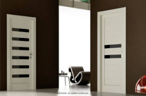 Modern Elegant Style Brown Glass Combined Interior Doors Prices pictures & photos